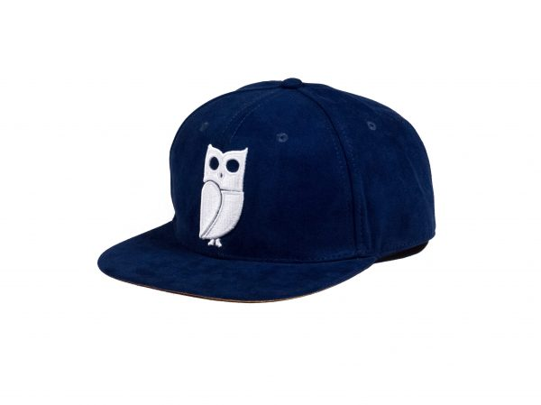 de hofnar blauwe vogel uil pet blue bird owl cap caps snapback suede amsterdam