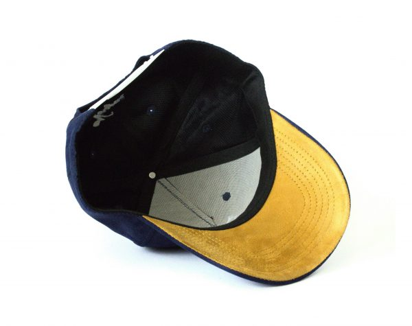 Blauwe navy blue baseball cap veryus kwaliteit amsterdam uil owl eule