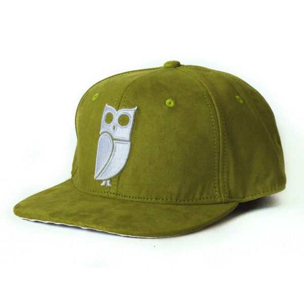 Olive green snapback veryus quality suede