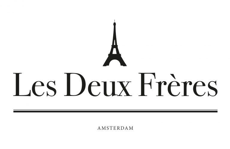 """Logo """"Les Deux Frères"""" Amsterdam"""
